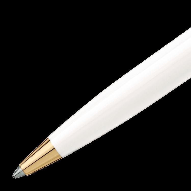 Pix Montblanc penna a sfera bianca 117659 - Casavola Noci - dettaglio