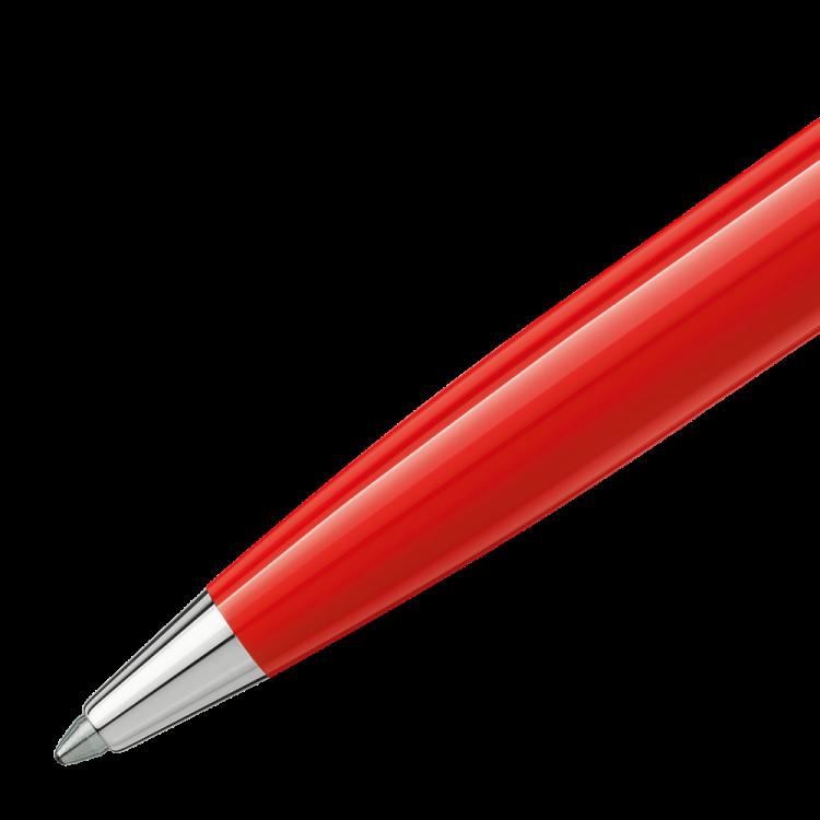Pix Montblanc penna a sfera rossa 114814 - Casavola Noci - dettaglio