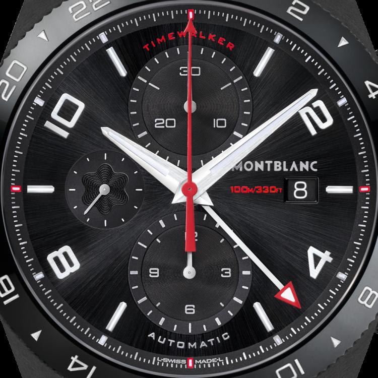 Montblanc TimeWalker Cronografo UTC 116101 - Casavola Noci - Dettaglio