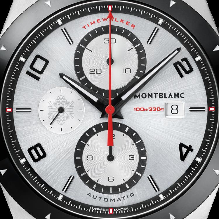 Montblanc Timewalker cronografo automatico 116100 - Casavola Noci - Dettaglio