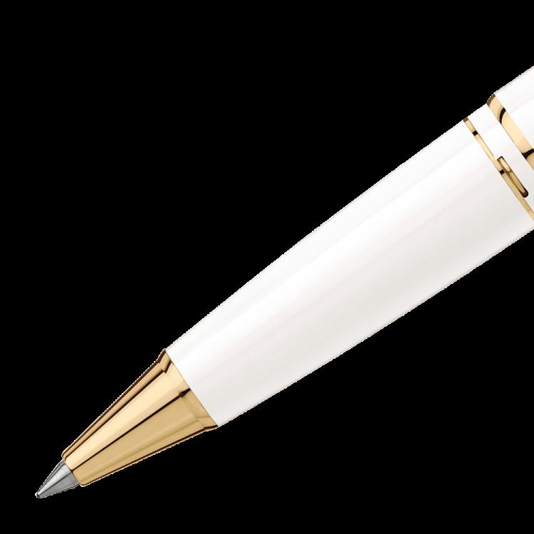 Pix Montblanc penna roller bianca 117658 - Casavola Noci - Dettagli