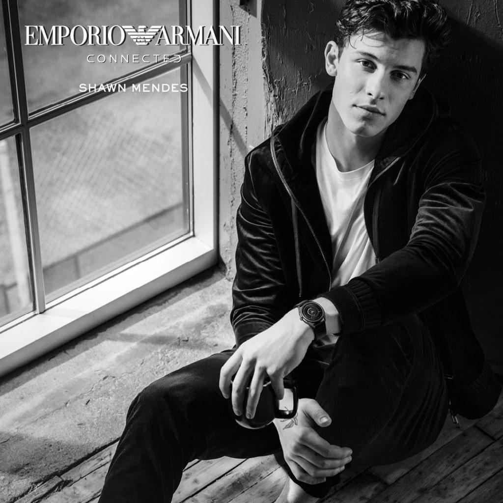 Emporio Armani Connected - Casavola Noci - Shawn Mendes Promo