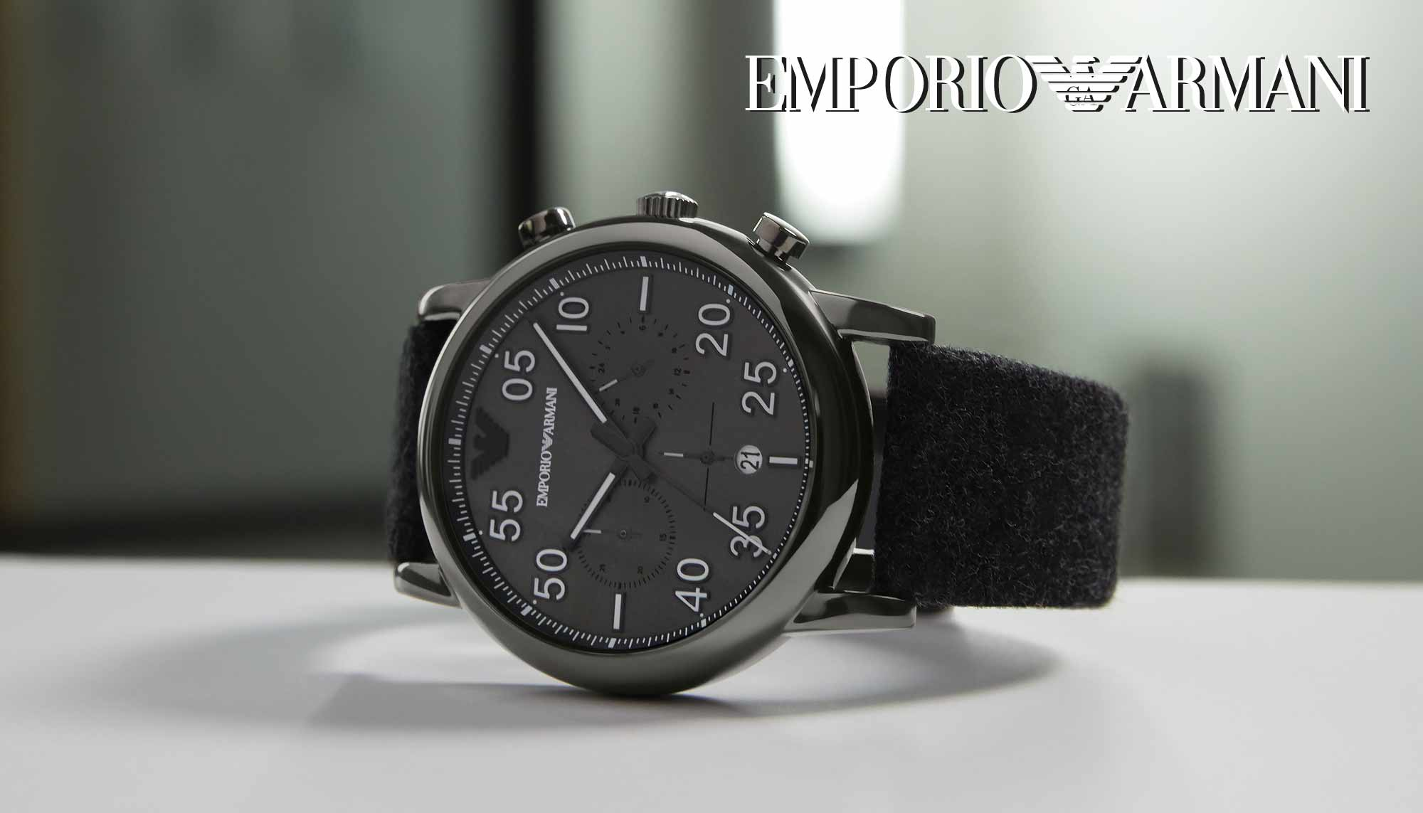 Emporio Armani Orologi - Casavola Noci - Marketing