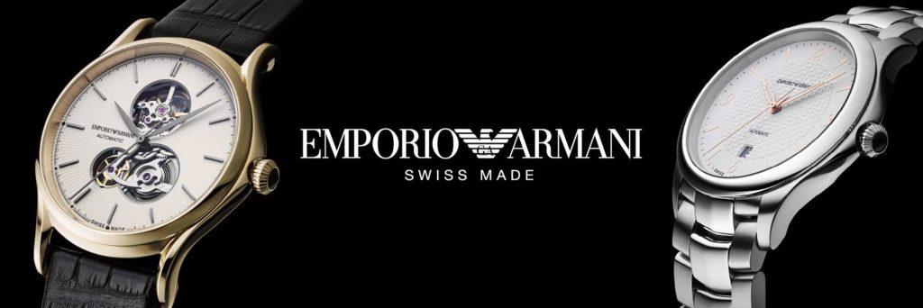 Emporio Armani Swiss Made - Casavola Noci - Banner1