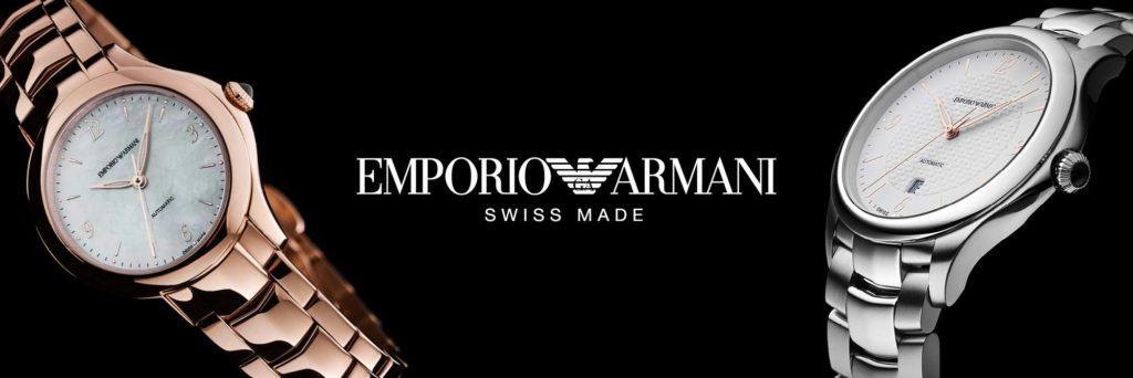 Emporio Armani Swiss Made - Casavola Noci - Banner2