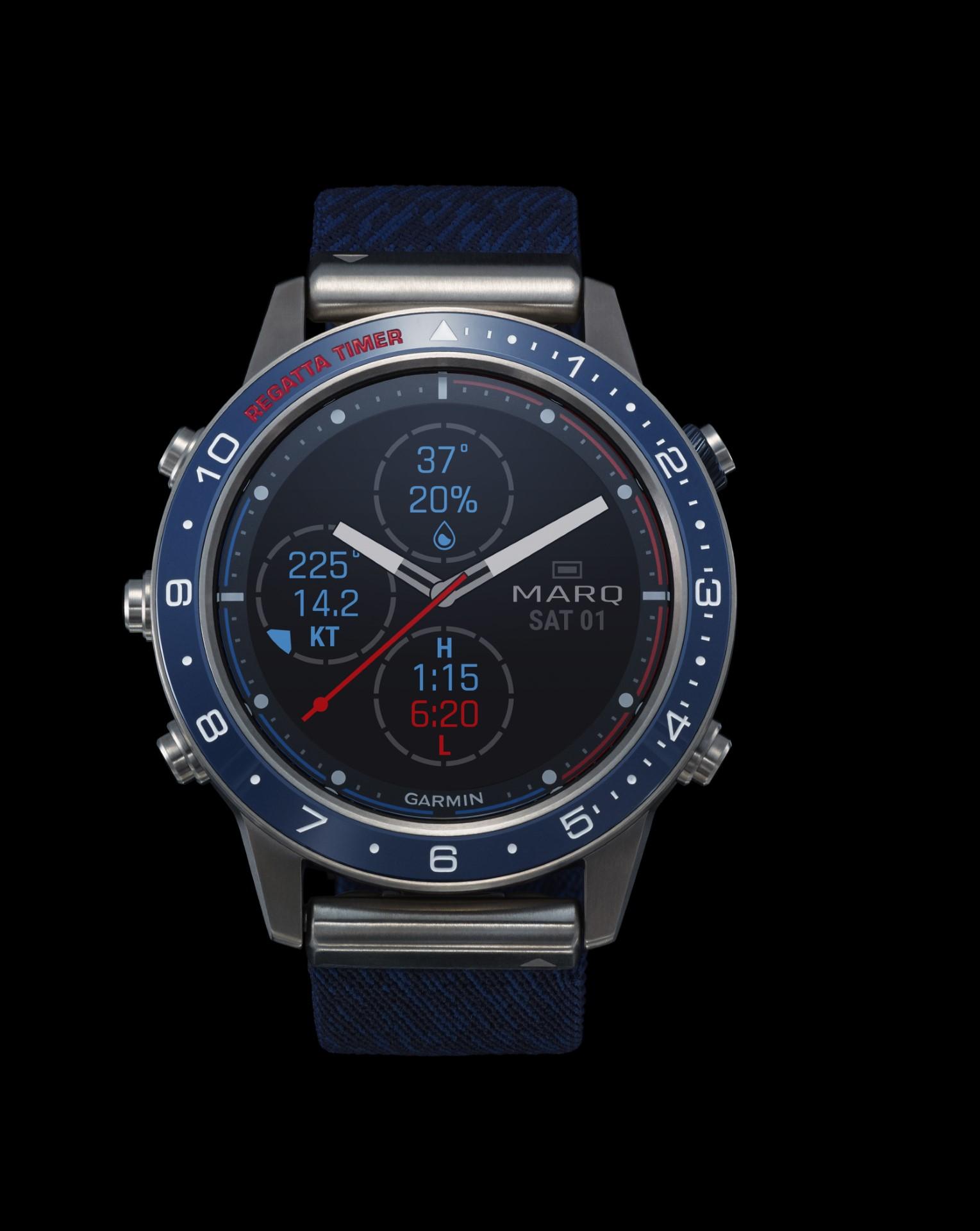 Garmin MARQ Captain - Smartwatch Multisport GPS - Gioielleria Casavola Noci - foto prodotto