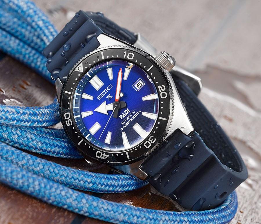 Seiko Prospex PADI - Edizione speciale 1965 silicone blu - Casavola Noci