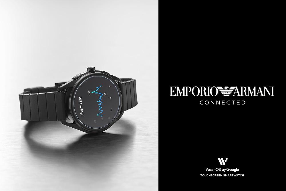 Emporio Armani Connected - Casavola Noci - Smartwatch Fashion nero