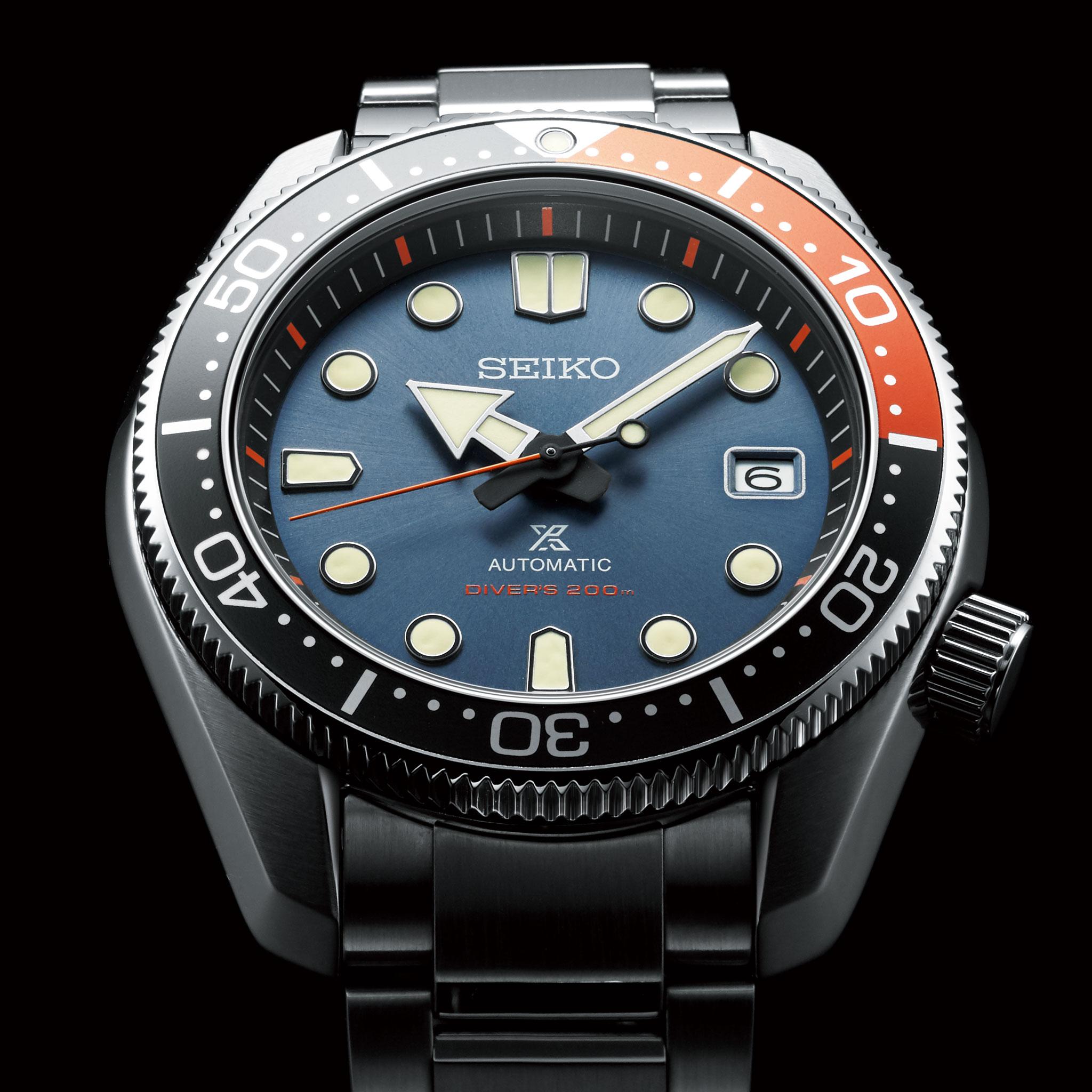 Seiko Prospex Diver SPB097J1 Twilight Blue - Orologio Automatico Uomo - Casavola Noci