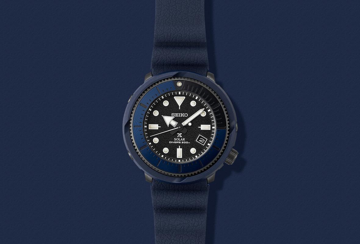 Seiko Street Series SNE533P1 - Orologio automatico uomo - Casavola Noci - sfondo blu